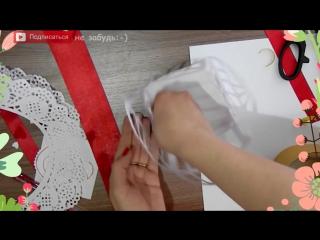 ОТКРЫТКА на 8 марта своими руками ручной работы поделки в домашних условиях из бумаги