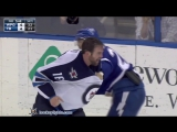 Andrew Ladd vs J.T. Brown Feb 18, 2016