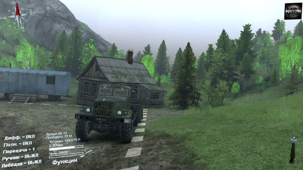 Карта «Ridge» для Spintires - Скриншот 2