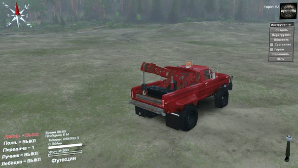 Ford Tow Truck 1970 для Spintires - Скриншот 2