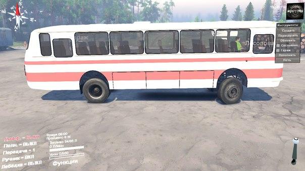 ЛАЗ-699Р для Spintires - Скриншот 1