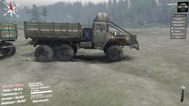 Урал-432010 S для Spintires - Скриншот 1