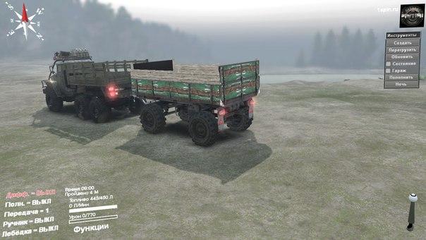 Урал-432010 S для Spintires - Скриншот 2