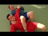 БИЕО Sambo instructional - throw to submission finish choke, arm bar and leg lock