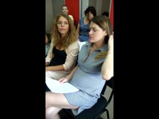 Отзыв. Школа стилиста Ларисы Борисовой на занятии Татьяны Яворской - голос и вокал