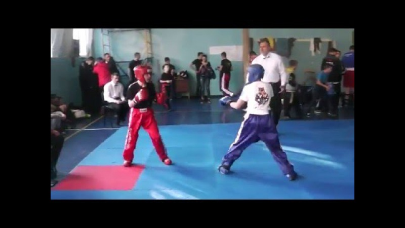 Kickboxing (WTKA) Чемпионат Украины 2-е место Финал Лайт-контакт 21.04-24.04.2016 Днепр