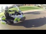 Мотобат против скутериста