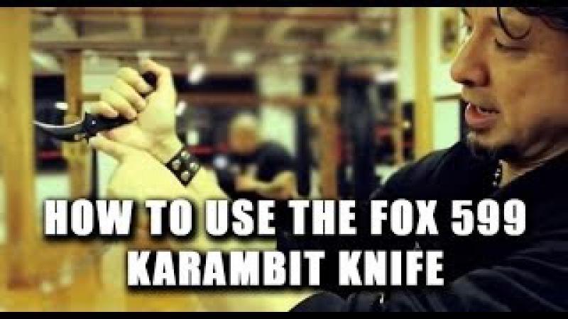 How To Use The 599 FOX Karambit Episode 1 Doug Marcaida