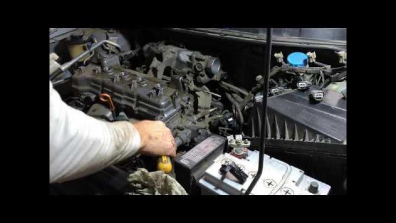 Ниссан примьера 2004 года кузов QP12 ремонт двигателя QG18DE Nissan Primera