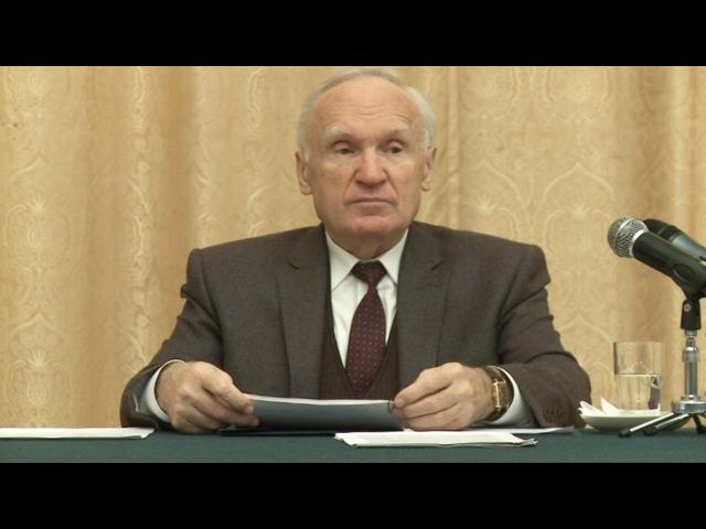 013.Понятие греха (МДА, 2012.11.12) — Осипов А.И.