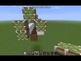 Как сделать работающий самолет в minecraft без модов - YouTube