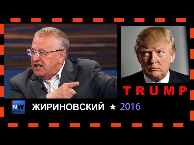 Жириновский-Нам нужен Трамп 12.09.2016