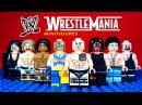 LEGO WWE Wrestle Mania KnockOff Minifigures World Wrestling Entertainment