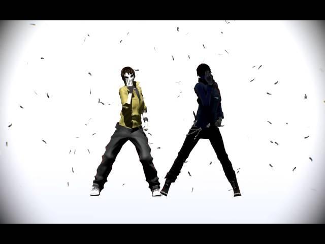 Creepypasta MMD ~ Masky and EJ ~ Masked Bitch