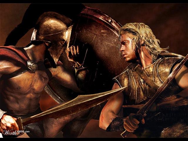 ✞ Поединок ✞ Ахиллес Греция VS Леонид Спарта ✞