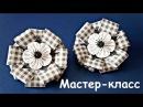 Бантики в школу канзаши Мастер класс DIY Bow to school Kanzashi tutorial