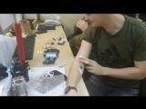 Управление прототипом кистевого протеза с помощью поверхностного ЭМГ