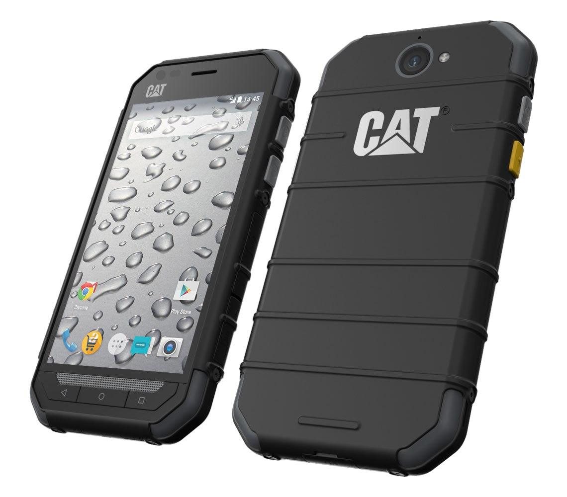 Выпущен первый в мире смартфон с тепловизором Caterpillar S60