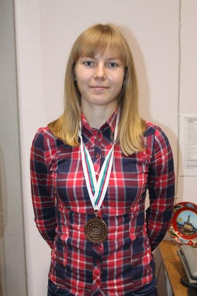 На фото Кристина Лядова (ведущая Марины Галицыной)