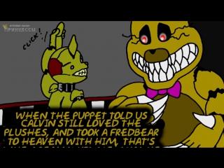 СПРИНГТРАП и КОШМАРНЫЙ ФРЕДБЕР _ FNAF 3 комикс #21