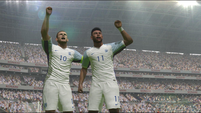 PES 2016 скриншоты