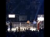 Видеозапись нокаута в бою Рой Джонс — Энцо Маккаринелли