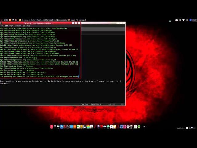 HS|OS BackBox Hackerschool Edition