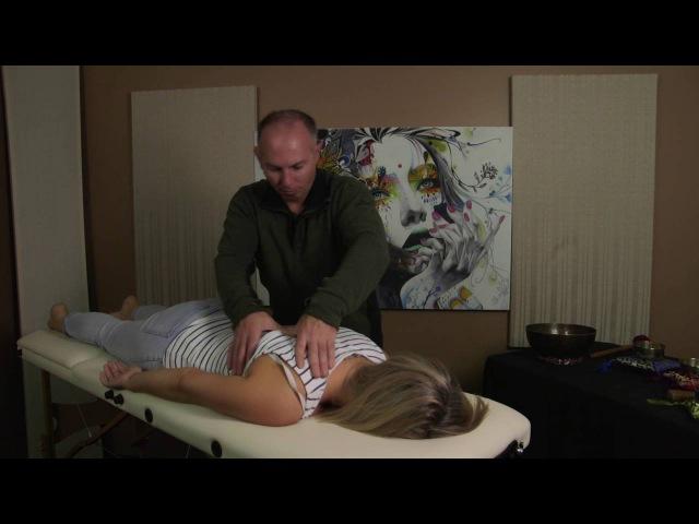 Relaxing Back Massage - ASMR