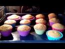 Красивые и вкусные кексы .Кексы на кефире.