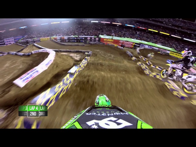 GoPro HD James Stewart and Ryan Villopoto Main Event 2014 Monster Energy Supercross from San Diego