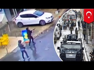 Two armed women militants in Istanbul shot dead after attacking Turkey police bus - TomoNews