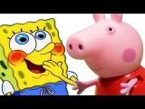 Мультфильмы для детей Свинка Пеппа и Спанч Боб Истории игрушек про улитку Новые мультики 2016