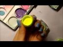 Как смешивать гель краски и создавать новые цвета 1 часть