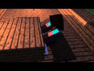 A Minecraft Animation Steve plays the Piano