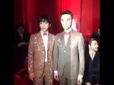 160118 IF Fashion - YongHwa CNBLUE @ Men's Fall Winter 2016 Fashion Show in Milan