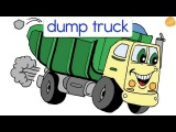 Street Vehicles and Transportation Vocabulary by ELF Learning - ELF Kids Videos