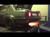BMW E30 M50 Turbo - Anti Lag Flame Thrower 820WHP @ 1.9BAR on Ethanol E100