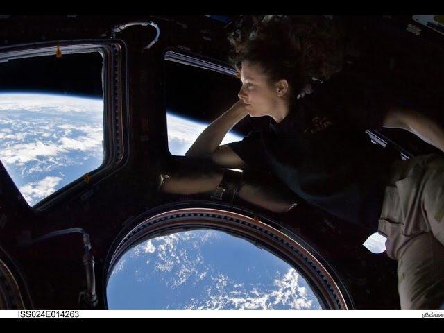 МКС - полгода на Орбите vrc - gjkujlf yf jh,bnt