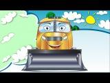 ✔ Cars Cartoons for children. Bulldozer. Heavy Vehicles. Cement Mixer Adventures. Funny Truck TV ✔