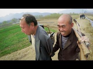 Слепой мужчина и его безрукий друг сажают лес в Китае