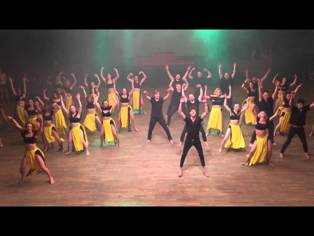 Salsa on 2 timba rueda Bootcamp from Marta Khanna Sergey Gazaryan in Ural Dance Festival 2016