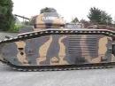 Погрузка французского танка Б-1 бис Char B-1 bis. Музей бронетехники в Самуре, Франция