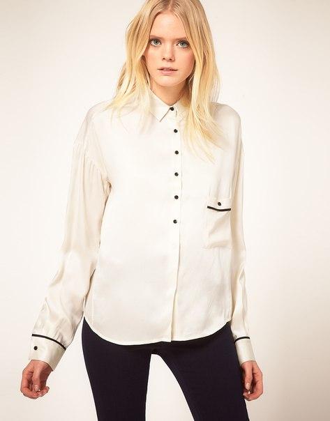 Ах рубашка белая