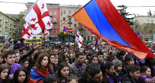 Армянская церковь в Грузии отблагодарила Германию за решение Бундестага