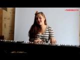 3G - ЗВОНКИ (piano cover by Lena Nefedova),девочка круто поёт кавер на песню,шикарно спела,волшебный голос у девушки,талант