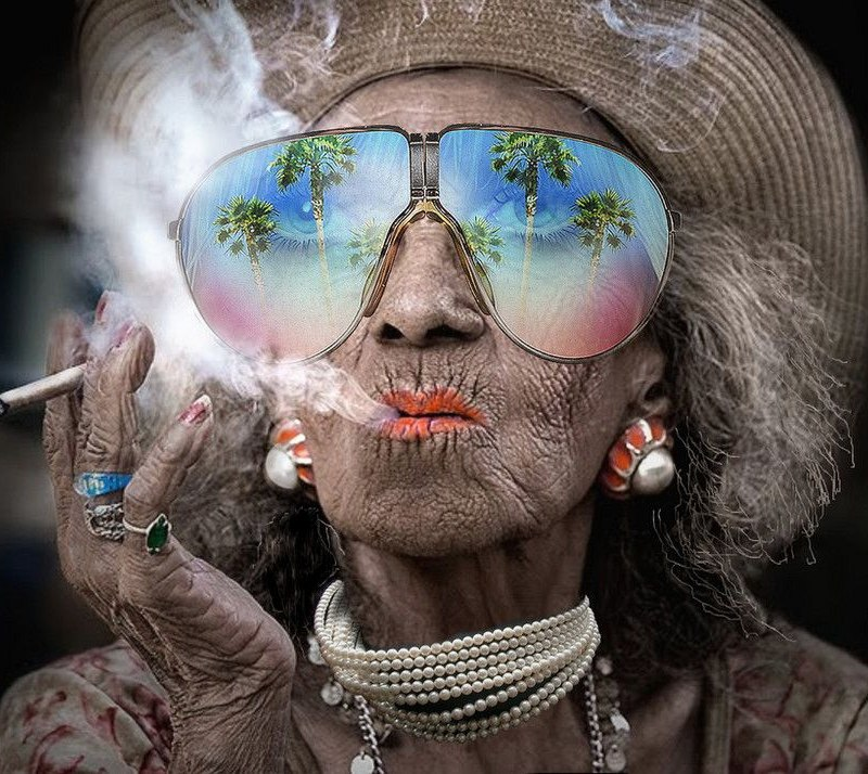 роковая красотка на пенсии