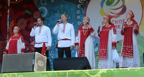 Михайловские артисты приняли участие в Московском фестивале.