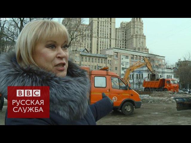 Прохожие в Москве о массовых нациских акциях сноса ларьков