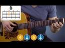 Как научиться играть на гитаре Elvis Presley - Love Me Tender|Разбор Аккорды Урок Элвис Пресли