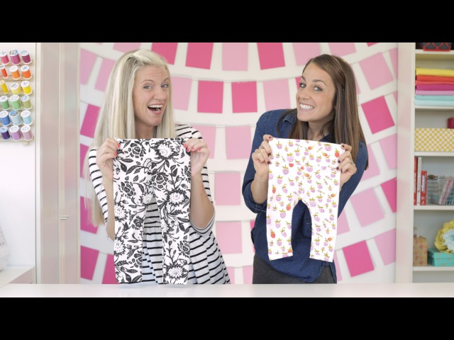 How to Sew a Pair of Leggings, two waysfor any age!